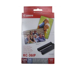 CANON KC-36IP-2R COLOR INK / PAPER SET (2R) FOR CP-100
