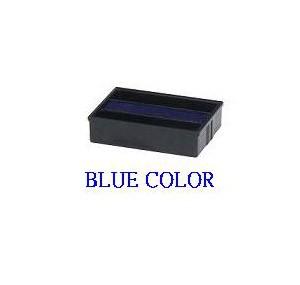 德士美 日期回墨印用印台 - 藍色