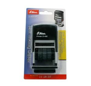 新力牌 S-S400 日期回墨印 - 黑色 (4mm)