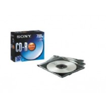 SONY 10CDQ80S1/SS1 CDR 700MB/48X 薄盒10隻
