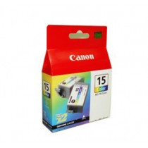 CANON BCI-15CL 彩色墨水匣 (TWIN PACK) FOR I70