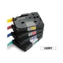 BROTHER TZe-S211 6mm x 8M 特強黏貼標籤帶 (白底黑字)