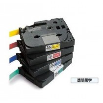 BROTHER TZe-131 12mm x 8M 特強保護層標籤帶 (透明底黑字)