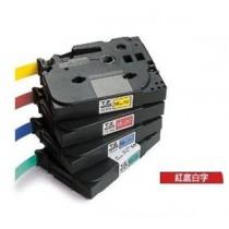 BROTHER TZe-435 12mm x 8M 特強保護層標籤帶 (紅底白字)