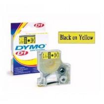 DYMO SC40918  D1 標籤帶  9mm x 7M (黃底黑字)