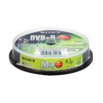 SONY 10DPR47 DVD+R 4.7GB/16X (10PCS/SPINDLE)
