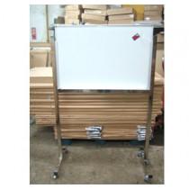 鋁框磁性白板連活動腳架 (600 x 900mm)
