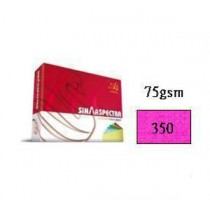 SINAR  75gsm  COPY PAPER  A4 - CYBER HP RED (#350)