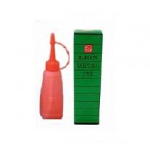 LION  LMN-1 號碼機印油 - 紅色 (28g)