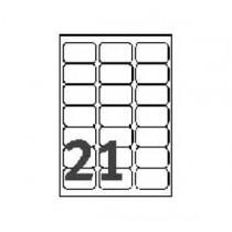 AVERY L7560-10 雷射列印專用透明郵寄標籤