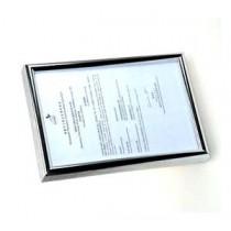 SM-A4 證件相架 - 銀框