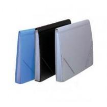A4 實色風琴文件袋 - 灰色