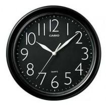 卡西歐 IQ01-1R 掛牆時鐘 (黑框)