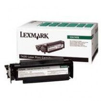LEXMARK 12A7415 BLACK TONER FOR T420D