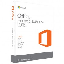 Microsoft Office Home and Business 2016 Win English Greater China DM Medialess