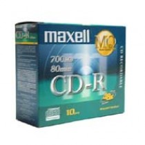 MAXELL CDR 80 1X-48X 薄盒10隻