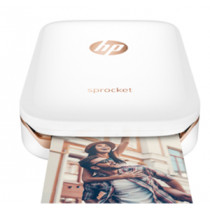 HP Z3Z91A SPROCKET PHOTO PRINTER  (WHITE)