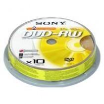 SONY DVD+RW 4.7GB 4X 10隻裝