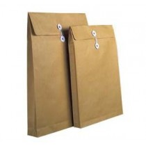 """BROWN ENVELOPE WITH STRING  9"""" x 12"""" x 2"""""""