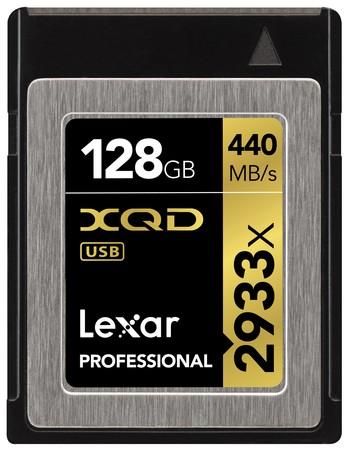 Lexar 128GB Professional 2933x XQD™ 2.0 card