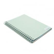 480gsm 單面皮紋夾咭 A4 - 灰色 (50張裝)