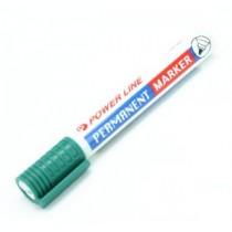 POWERLINE PM-880 圓咀箱頭筆 - 綠色