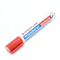 POWERLINE PM-880 圓咀箱頭筆 - 紅色