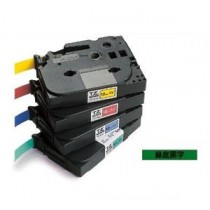 BROTHER TZe-721 9mm x 8M 特強保護層標籤帶 (綠底黑字)