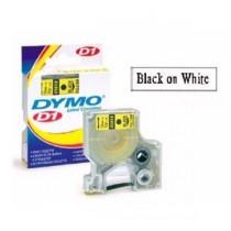 DYMO SC40913  D1 標籤帶  9mm x 7M (白底黑字)
