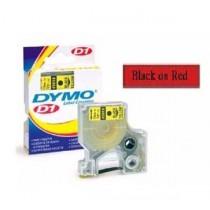DYMO SC40917  D1 標籤帶  9mm x 7M (紅底黑字)