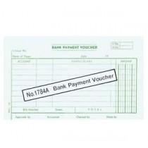 1784A 大本英文傳票 - BANK PAYMENT