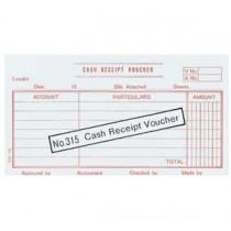 315 英文傳票 - CASH RECEIPT