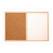 磁性白板 + 水松板 (600 x 900mm)