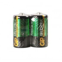 GP超霸 14G (UM-2) 環保碳性電池 C Size (2粒裝)