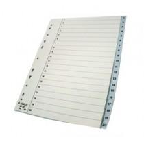 易達 100107 A4  (1-20) 膠質分類索引