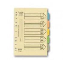 地球牌 2005 A4 五級彩色紙質分類索引