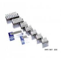 SANBY 3號 數目字母組合膠印 (5mm)