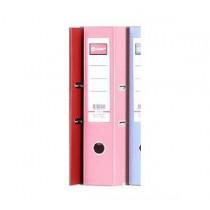"""地球牌 F4 3"""" 拱型扣文件存檔夾 - 粉紅色"""