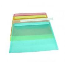 愛爾法 3015 A4 斜紋透明文件速遞套 - 綠色