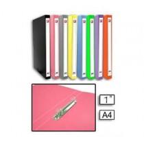 DATA BANK S347 A4 2-D圈 活頁夾 16mm- 粉紅色