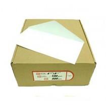 """4.5"""" x 9.5"""" 加大橫口白信封 (500個裝)"""