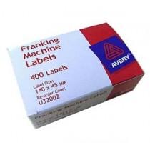 艾弗利 U32002  郵票機編印郵費標貼 (400個裝)