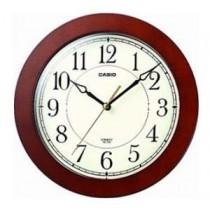 卡西歐 IQ126-5D 掛牆時鐘 (啡框)