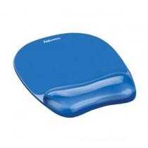 Fellowes FW91141 冰藍水晶啫喱滑鼠墊