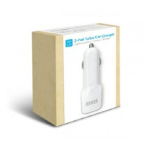 Anker 24W/4.8A 2-Port Turbo Car Charger