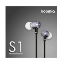 HOOMIA S1 Micro-Metal In-Ear Stereo Headset - Black