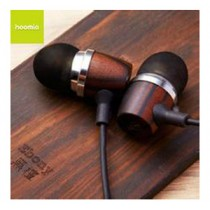 HOOMIA Bon5 All Nature In-Ear Stereo Headset - Ebony