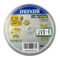 MAXELL DVD-R 4.7GB 16X 50隻裝