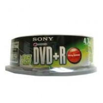 SONY DVD+R 16x 4.7GB 25隻裝
