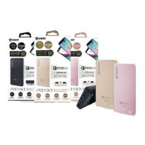 XPOWER P810Q QC3.0 2-Port USB 10000mAh PowerBank – Rose Gold (XP-PB10Q-RG)